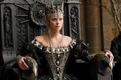 Blancanieves y la leyenda del cazador charlize theron