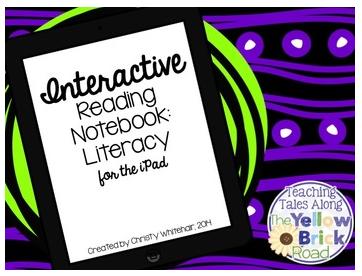 http://www.teacherspayteachers.com/Product/iPad-Interactive-Notebook-Literacy-CCSS-Aligned-1369244