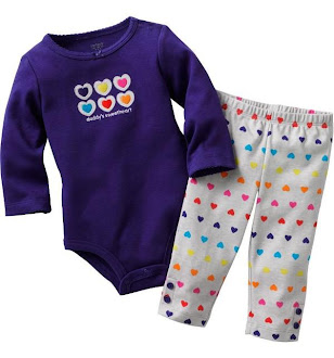 Clearance Stock : RM29 - Set Romper 2pcs Brand Carter's