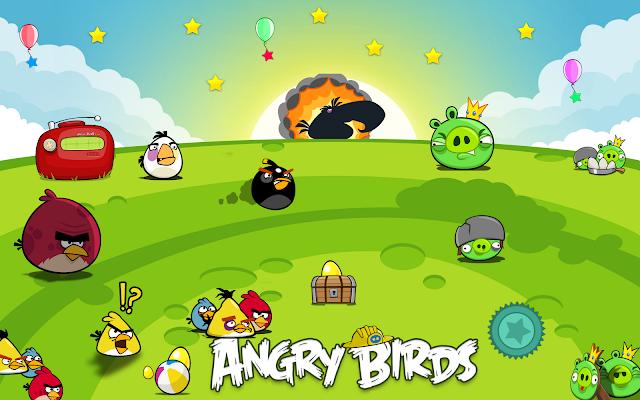 Angry Birds Seasons gratuit sur iPhone et iPad