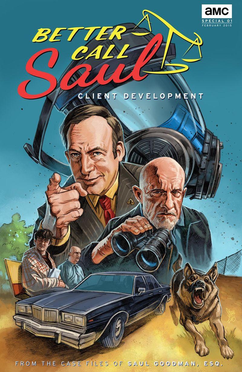 Atomlabor Web Tipp - Breaking News - Better Call Saul Comic Online