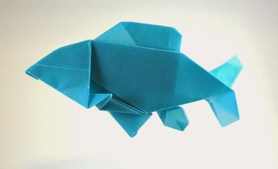 origami fish kids
