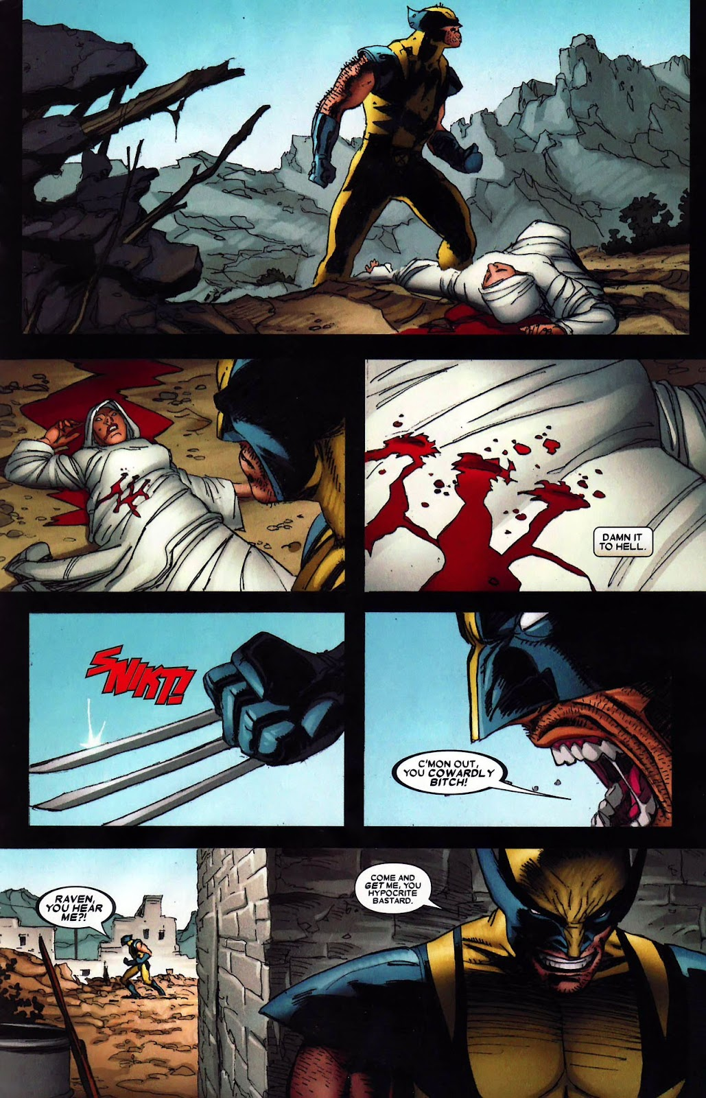 Read online Wolverine (2003) comic -  Issue #62 - 22