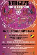 Manolo Vanegas, anunciado en Vergeze, el 10/04.