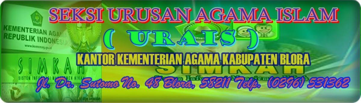 SEKSI URUSAN AGAMA ISLAM ( URAIS )