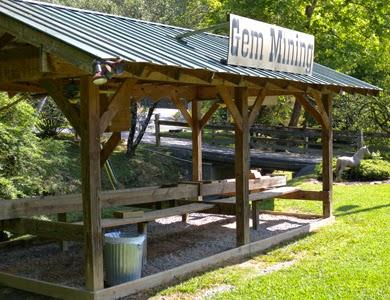 Gem Mining at Big Rock Dude Ranch.