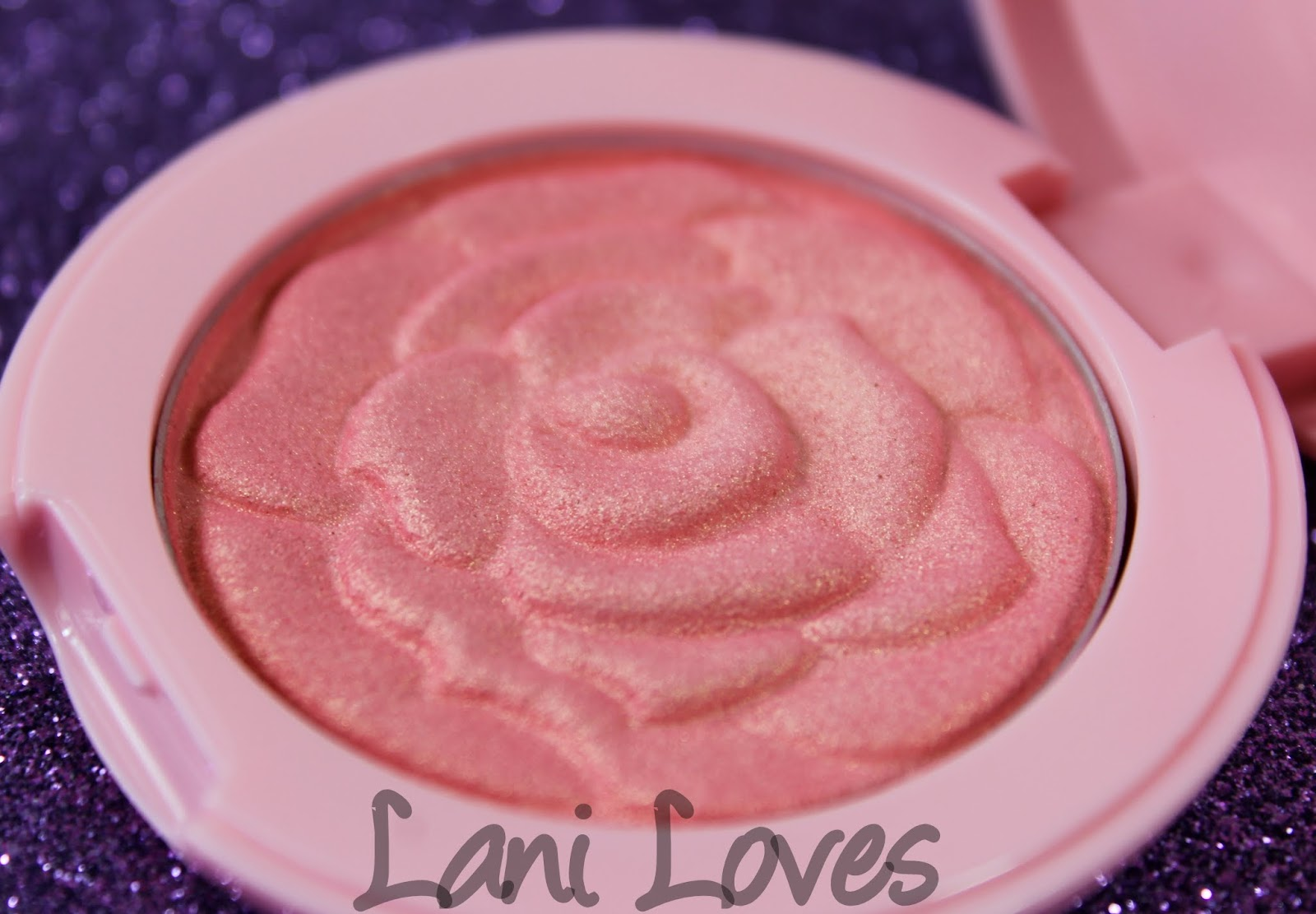 Etude House Princess Happy Ending: Rose Cheek Blusher - Coral Rose Swatches & Review