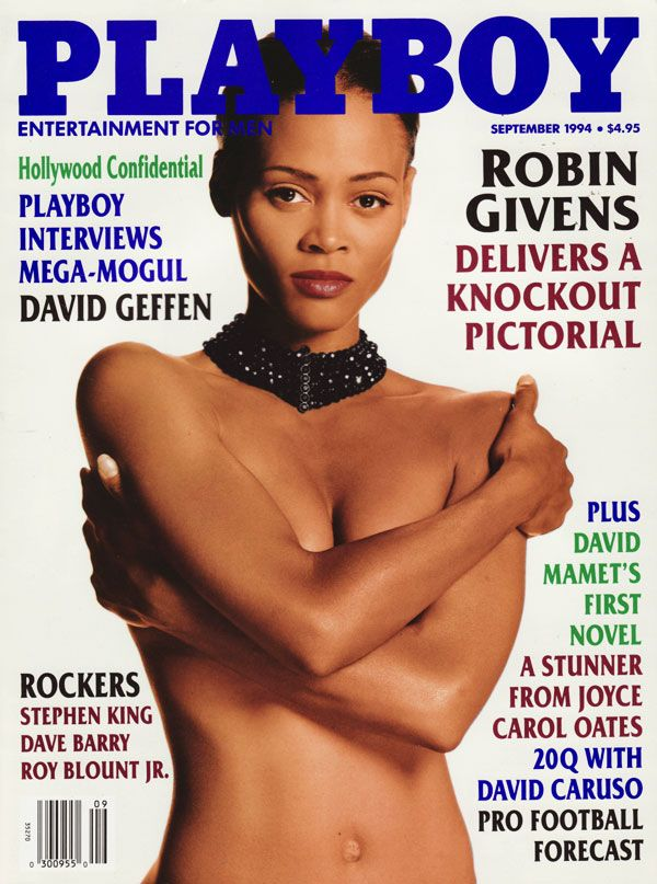 Robin Givens sexy in Playboy
