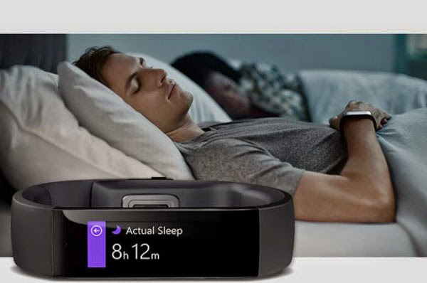 pulsera inteligente de Microsoft