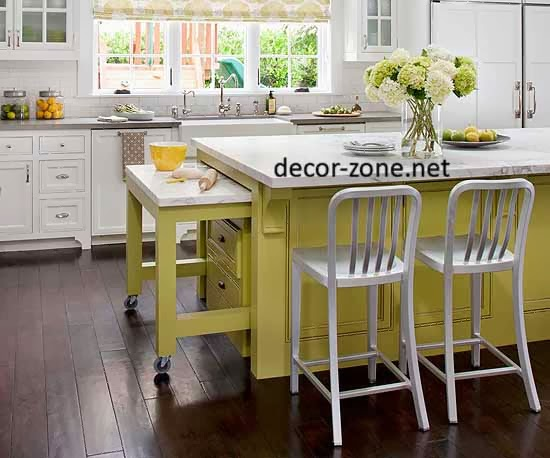 15 innovate small kitchen storage ideas 2015 for Table ideas for small kitchen