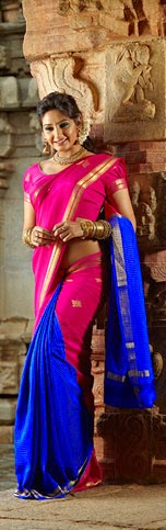Mysore Silk Sari collections