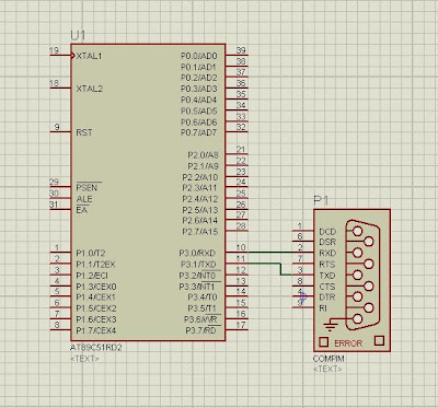 compim interfacing with microcontroller
