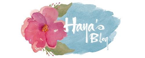 Haya's Blog