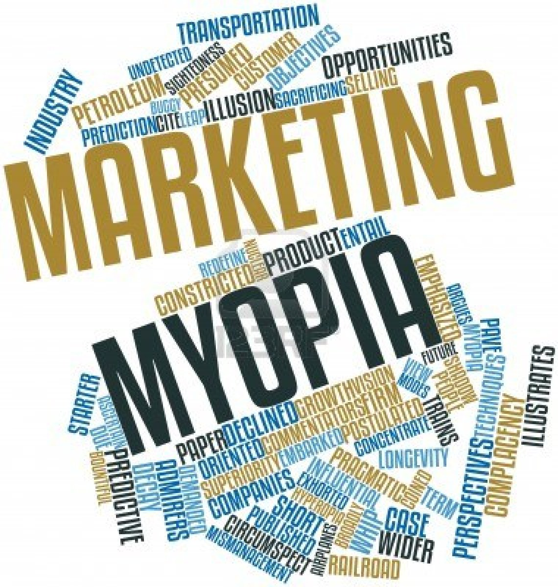 theodore levitt His article, marketing myopia, harvard business review (1960) caused an immediate sea change in the way marketing was viewed from within corporations an article in the same publication in 1983, globalization of markets, popularized the term globalization in its modern sense .