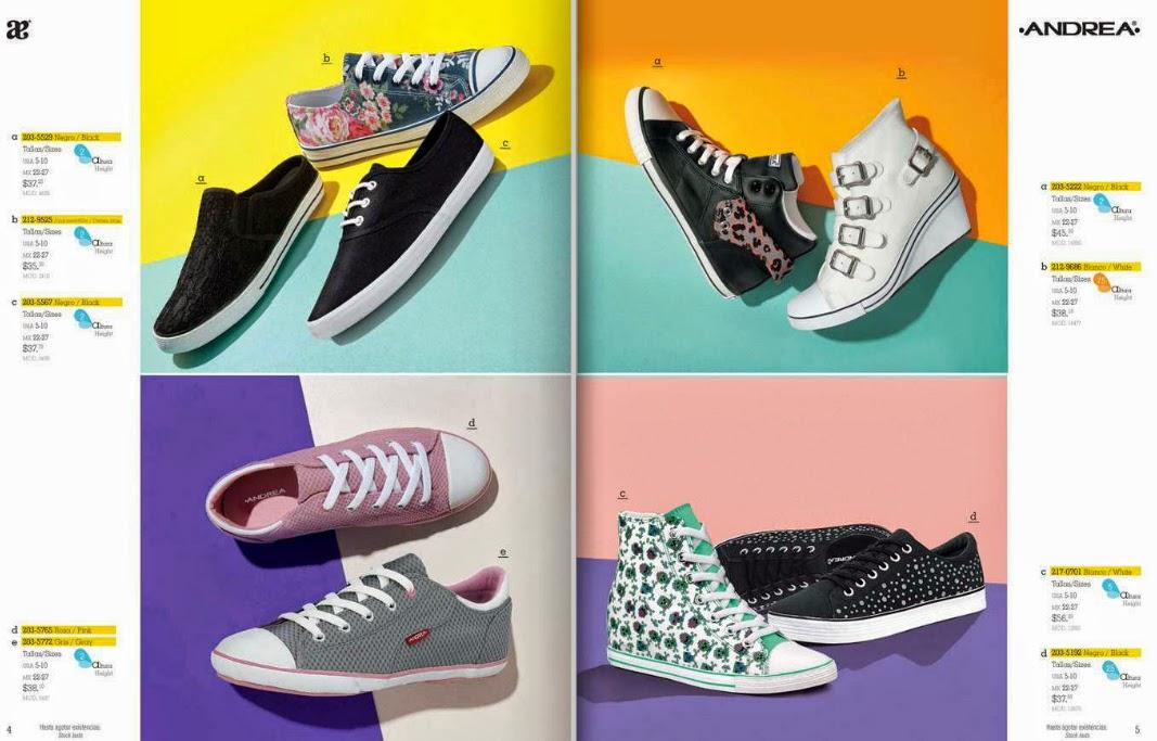 Catalogo Andrea 2015 calzado  edicion limitada