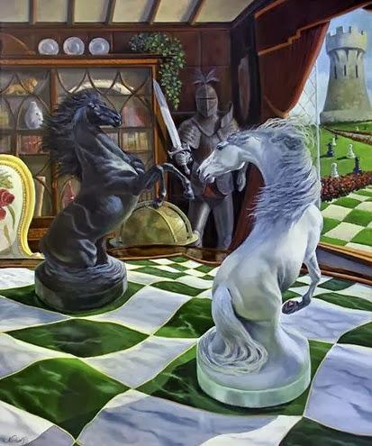 surrealismo-de-caballos-al-oleo