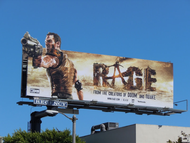 Rage billboard