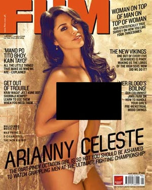Arianny Celeste Covers FHM Philippines Magazine