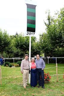 Bandera Martuliana en Lasarte.