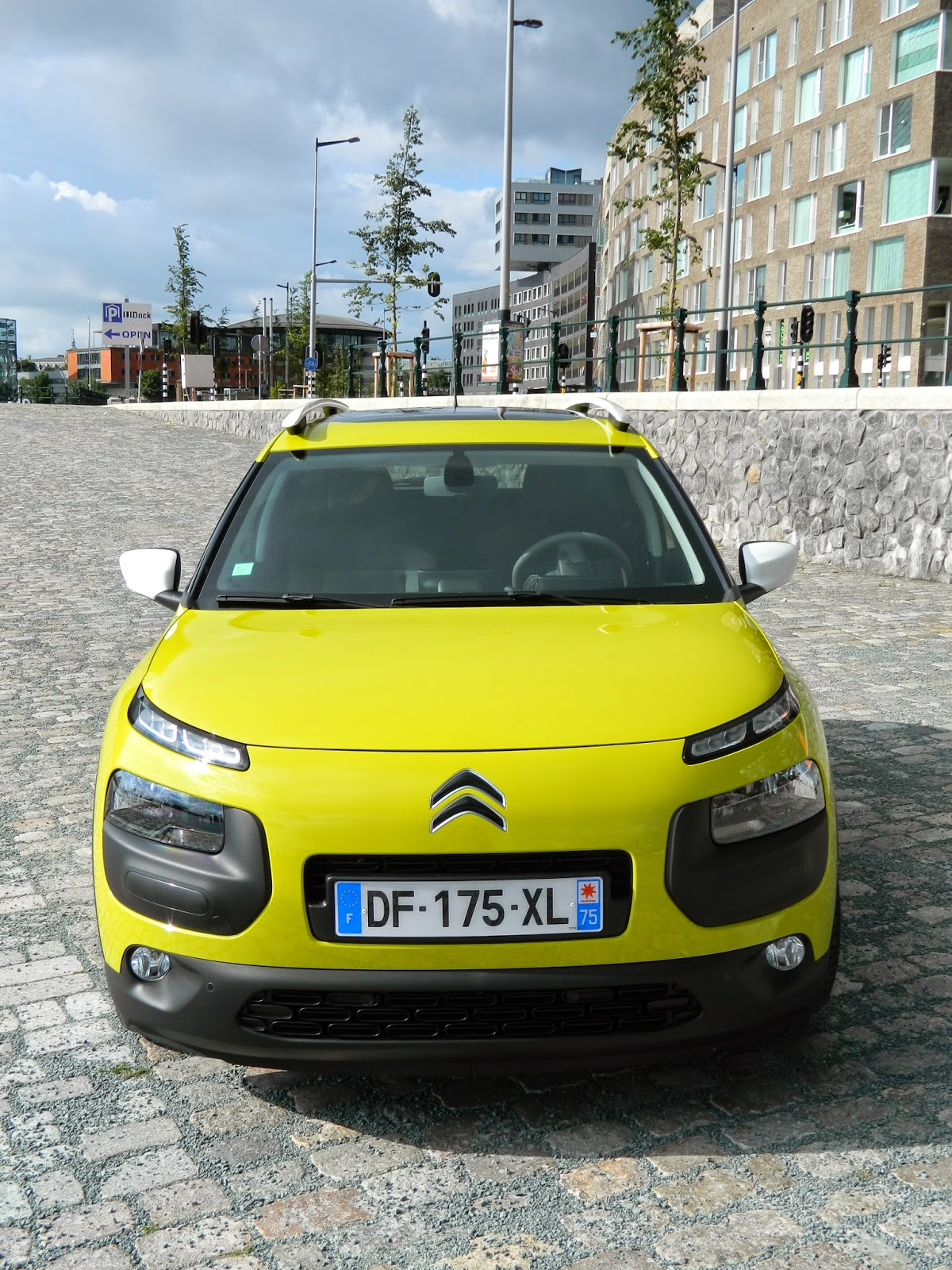 Citroen C4 Cactus from the front