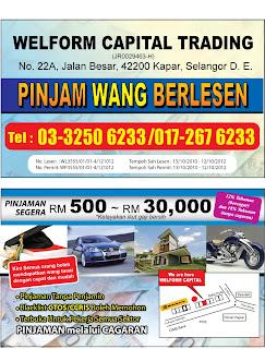 Selangor Dan Lembah Klang Sahaja)