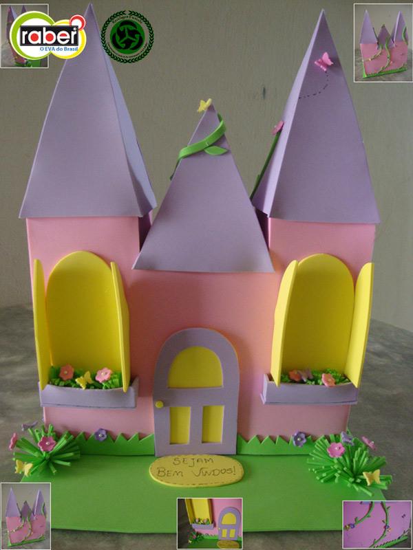 Arte Com Quiane Paps E Moldes De Artesanato Molde Castelo De