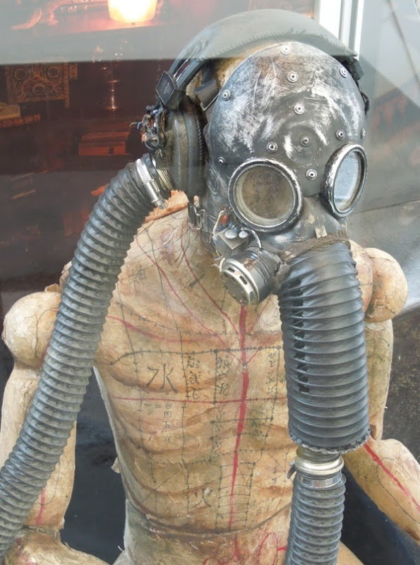 Insidious Chapter 2 Gas mask mannequin film prop