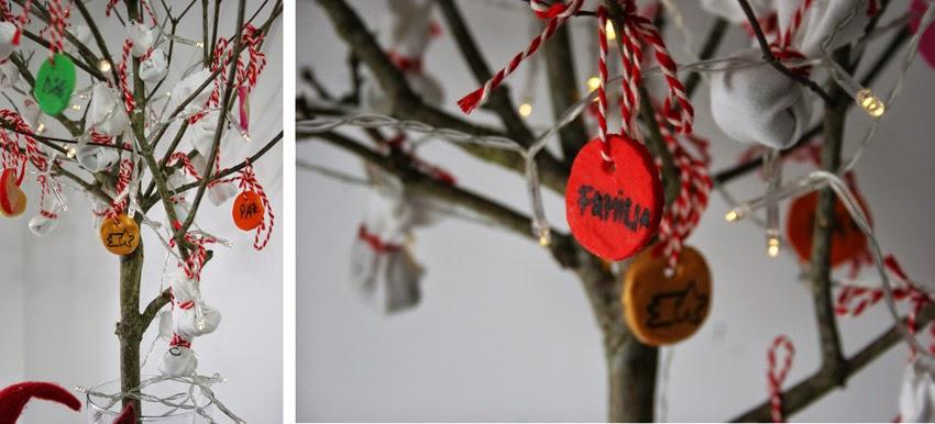 El árbol de navidad handmade de Decorar en familia - Adornos navideños con pasta de sal3