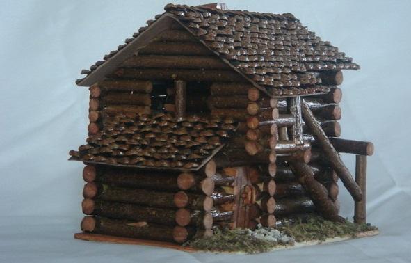 el yapımı ev maketleri