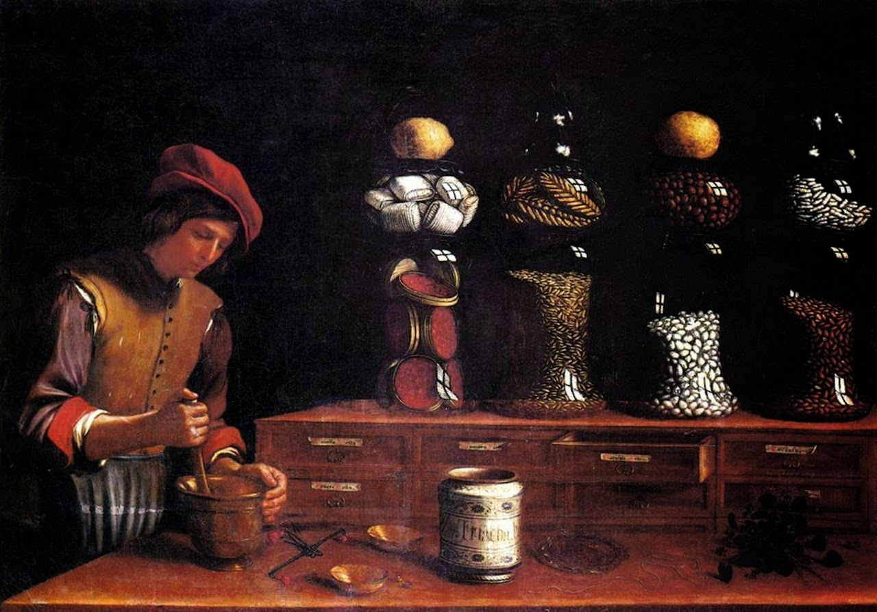 The Apothecary 1637
