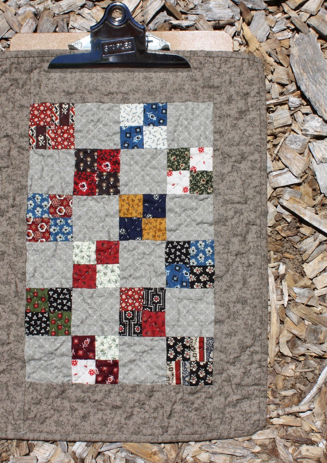 Finishing a Small Quilt