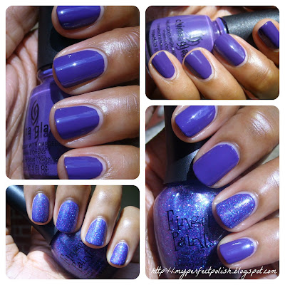 China Glaze Grape Pop FingerPaints Movie in the Park