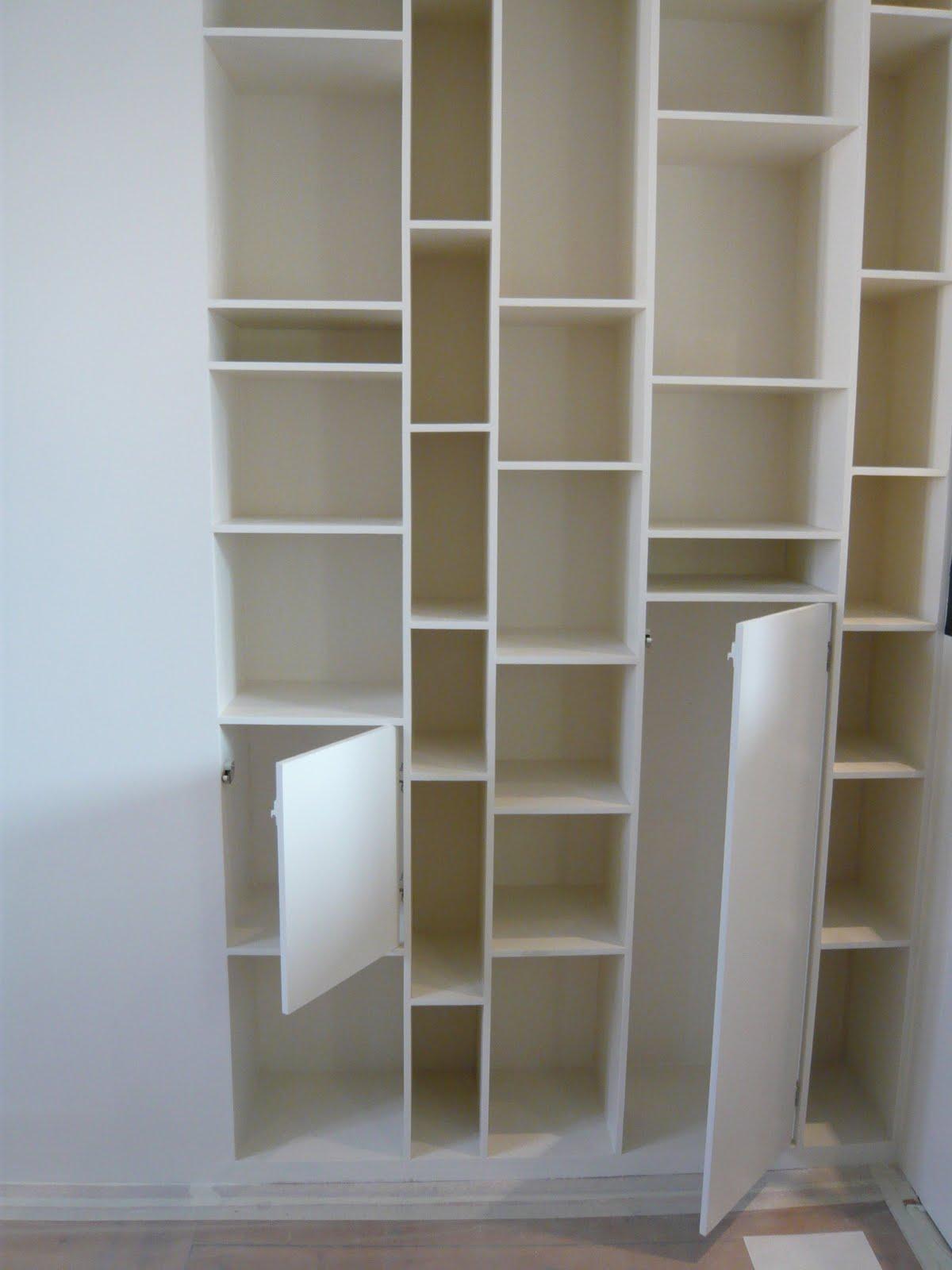 Bo travo concept verri re int rieure et biblioth que sur - Bibliotheque sur mesure ikea ...
