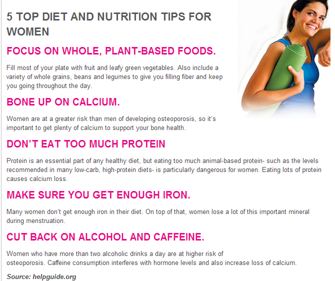 Useful bodybuilding tips for women