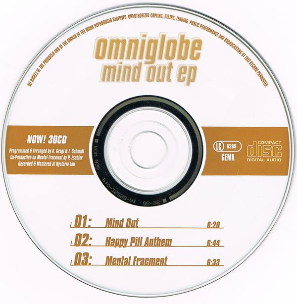 Omniglobe - Mind Out EP