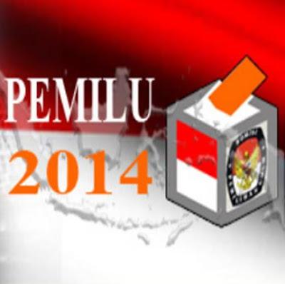 DCS Anggota DPR RI Tahun 2014 per Dapil