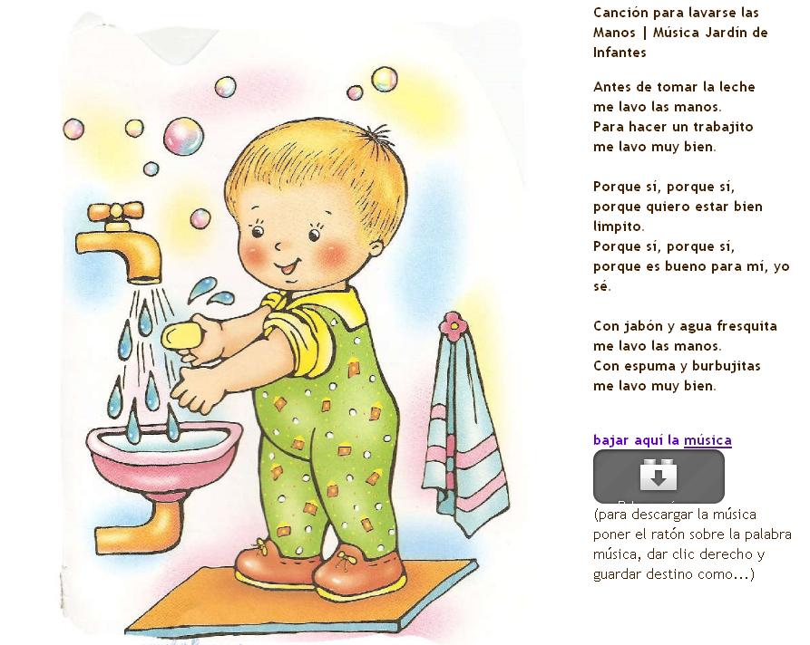 Dibujos de niños lavandose las manos - Imagui