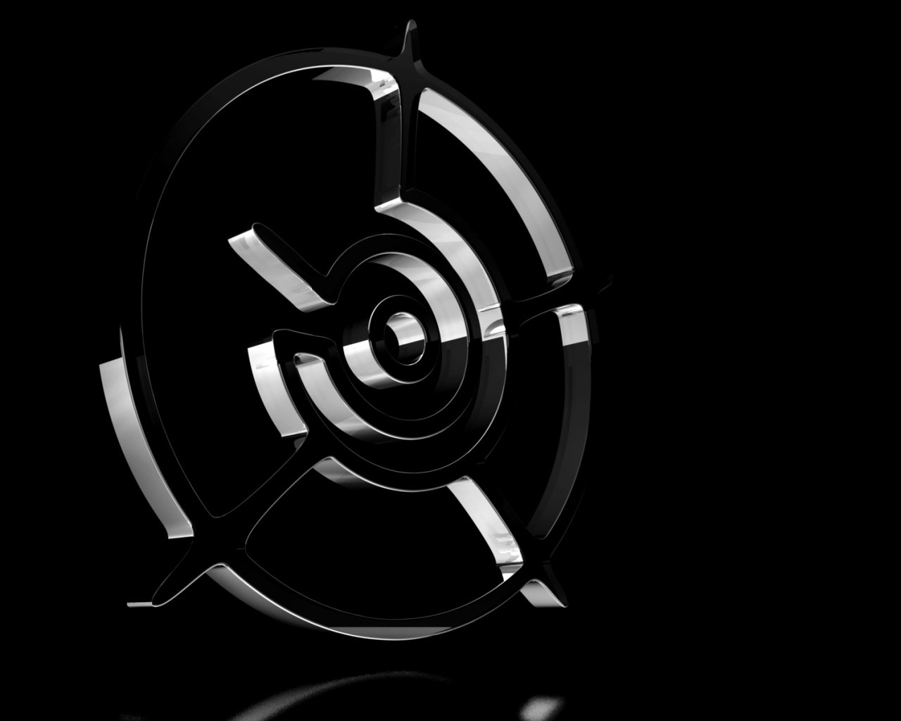 Amazing wallpapers black white wallpapers black and for Black and silver 3d wallpaper
