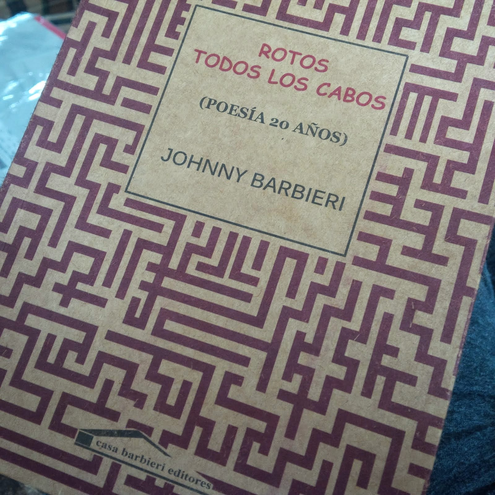 poemario de Johnny Barbieri