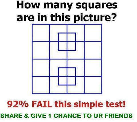 images of How Many Squares In Picture Mega Lold