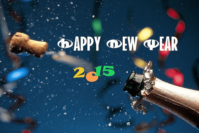 Happy New Year 2016 Mobile Wallpaper