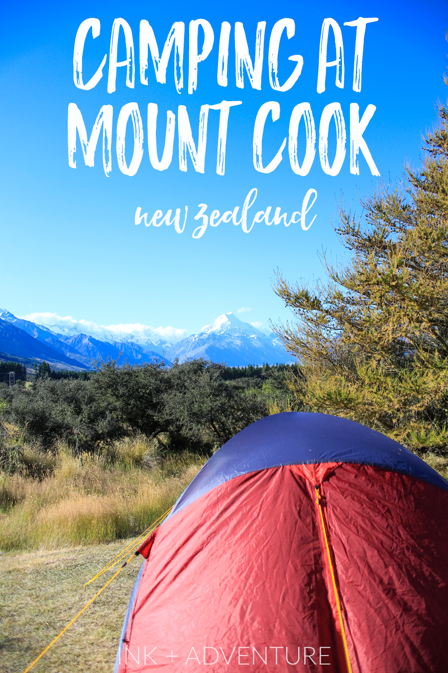 our experience camping near Mount Cook in New Zealand was filled with stunning views and surprises.