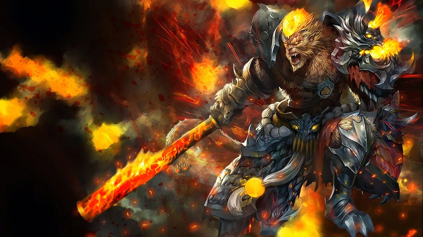 Wonderful WuKong League Of Legends Wallpaper