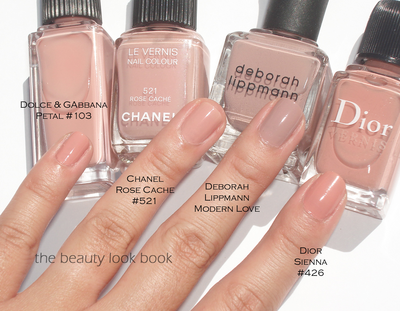 Color Focus: Pink Nudes for Nails | The Beauty Look Book