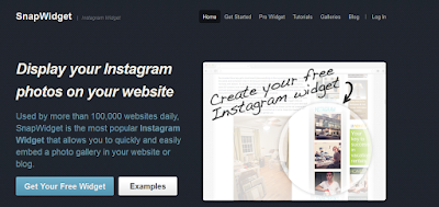 Como adicionar o Widget do instagram no blog