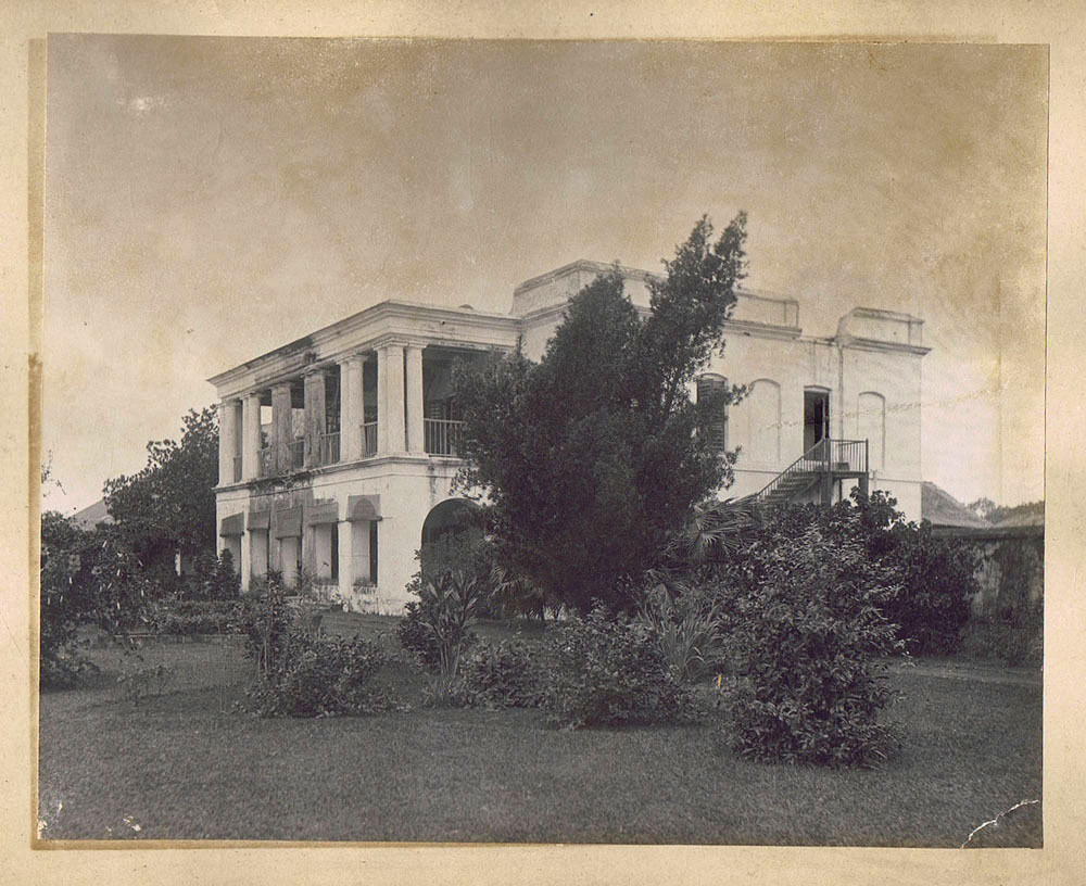 Colonial House in India - c1900's