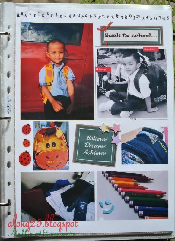 project life 2014 in malaysia diari bergambar mingguan picture diary artwork scrapbook pocket