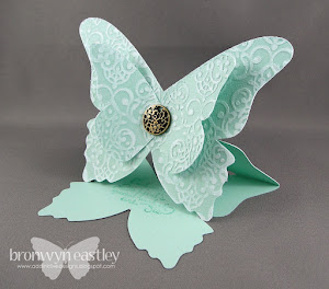 MDS, e-Cut, Butterfly Easel Card