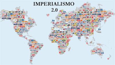 """""""Imperialismo 2.0. Un nuevo tipo de """"Imperialismo Colectivo"""""""" - Publicado en el blog Cáncer Capitalista World+map_imperialism+2_0"""