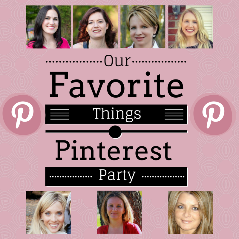 Our Favorite Things Pinterest Party-April Edition at Ginas Craft Corner